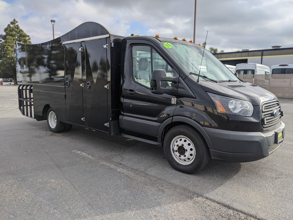Used 2015 Ford Transit-350 Utility Truck with Liftgate DIESEL in Fountain Valley, CA