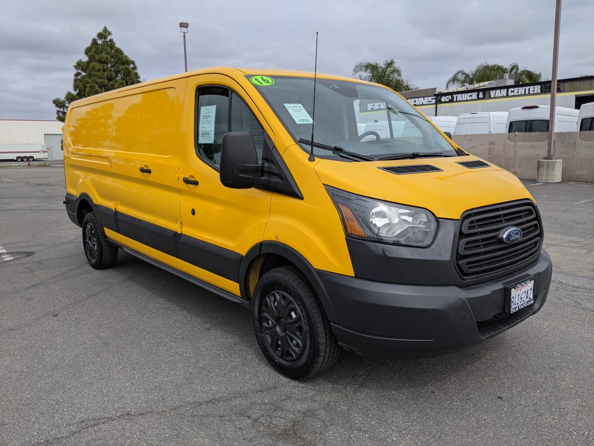 Used 2016 Ford Transit-250 Long Low Roof Cargo Van in Fountain Valley, CA