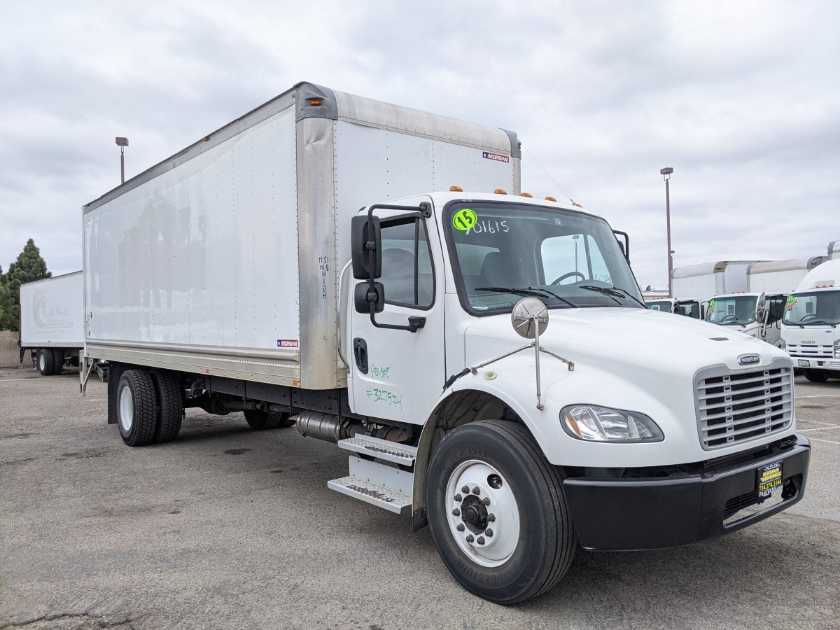 Used 2015 Freightliner M2 106  24FT Box Truck with Liftgate DIESEL in Fountain Valley, CA