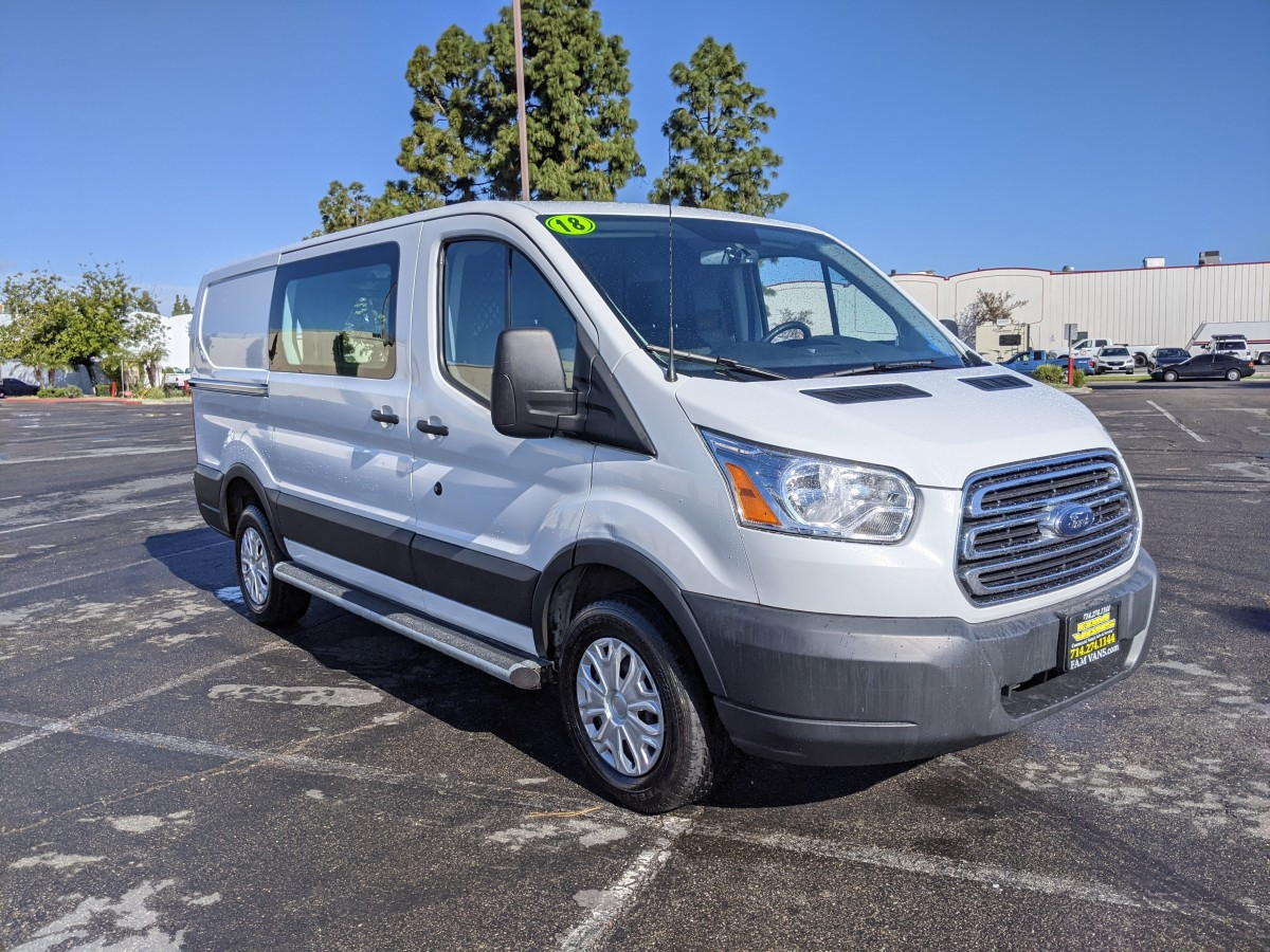 Used 2018 Ford Transit-250 Low Roof Cargo Van in Fountain Valley, CA