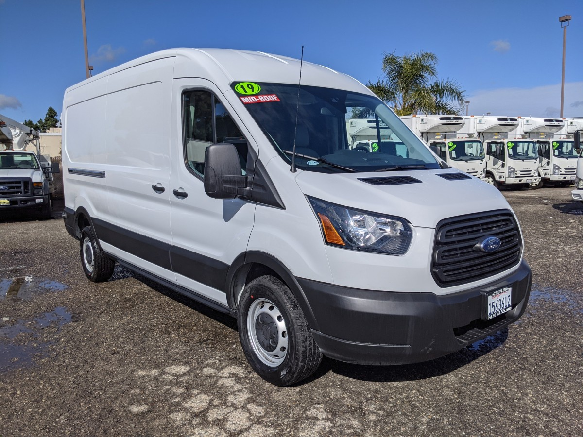 Used 2019 Ford Transit-250 Long Mid Roof Cargo Van in Fountain Valley, CA