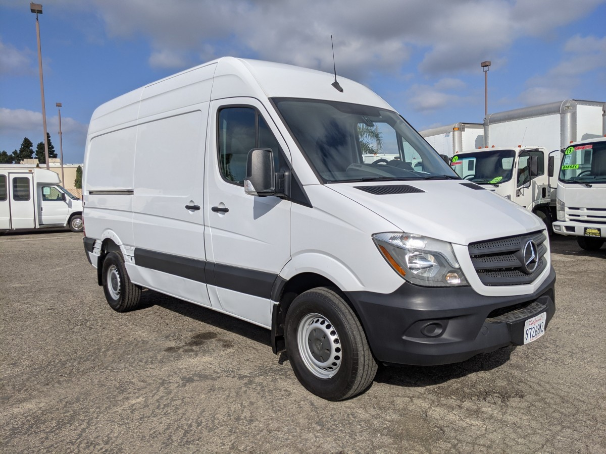 Used 2017 Mercedes-Benz Sprinter 2500 High Roof Cargo Van DIESEL DING AND DENT in Fountain Valley, CA