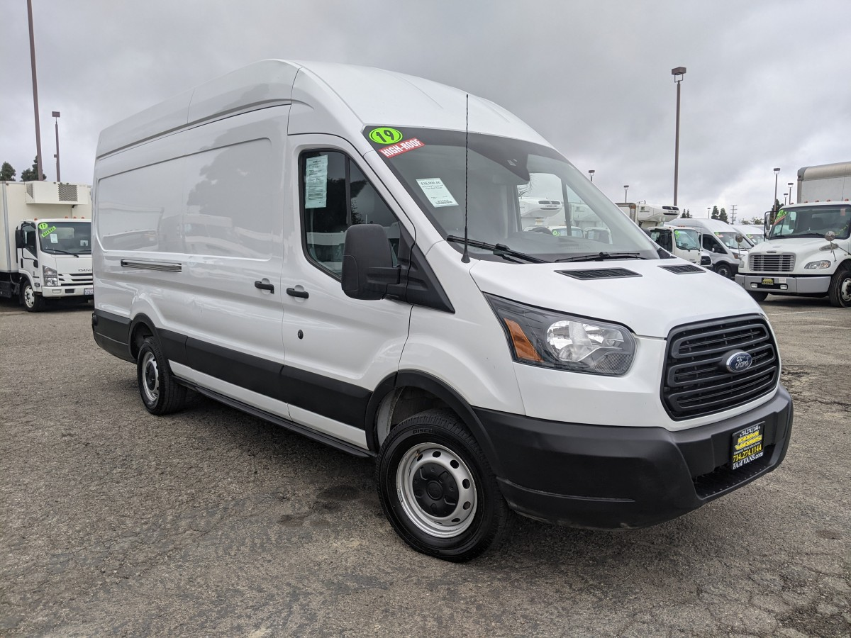 Used 2019 Ford Transit-250 Extended Long High Roof Cargo Van DING AND DENT in Fountain Valley, CA