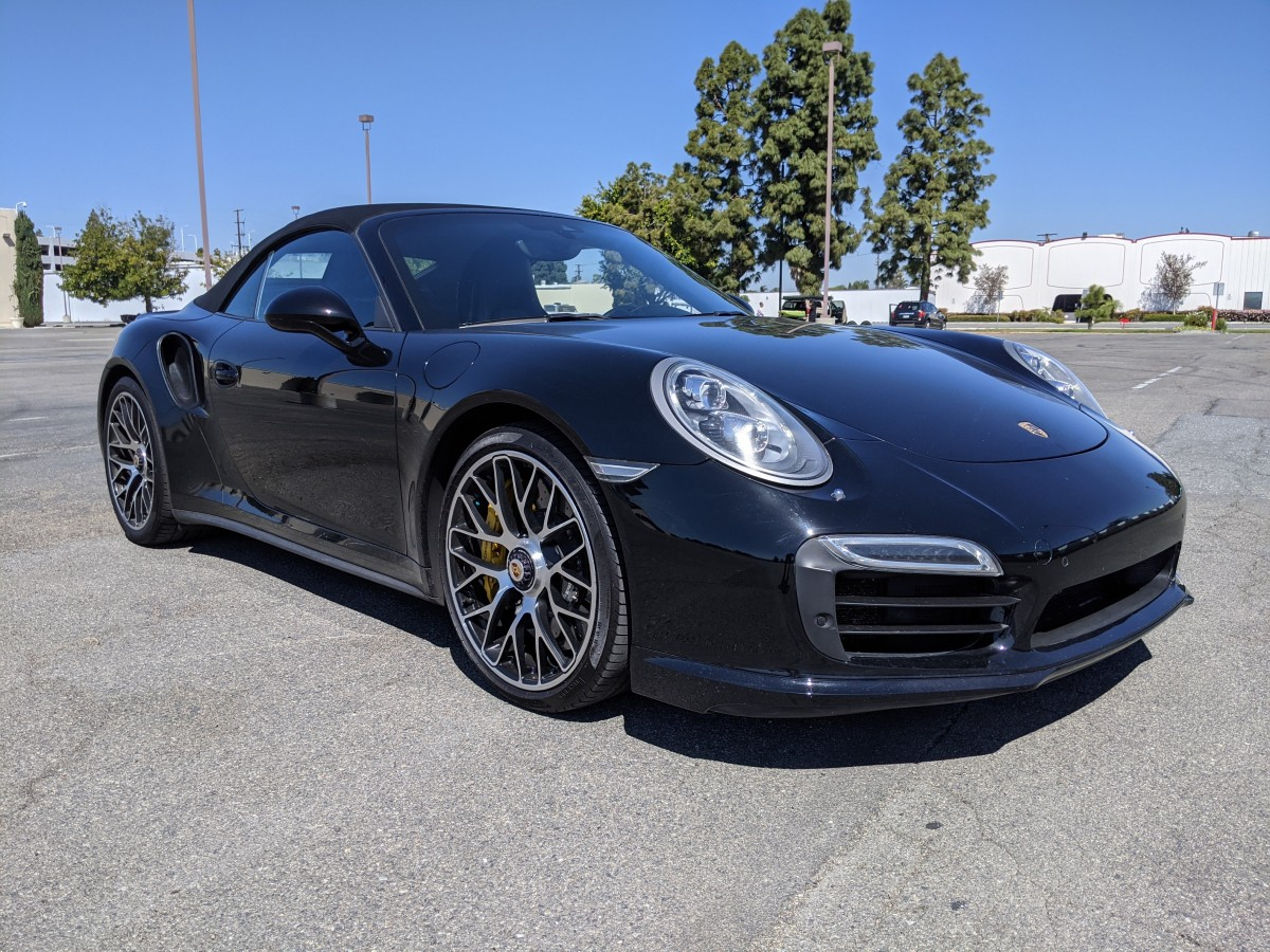 Used 2015 Porsche 911 Turbo S Cabriolet AWD 4WD in Fountain Valley, CA