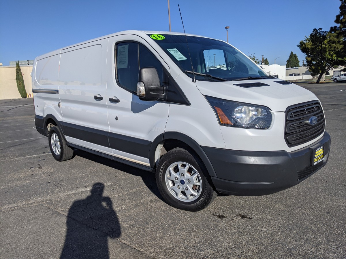 Used 2016 Ford Transit-250 Low Roof Cargo Van in Fountain Valley, CA
