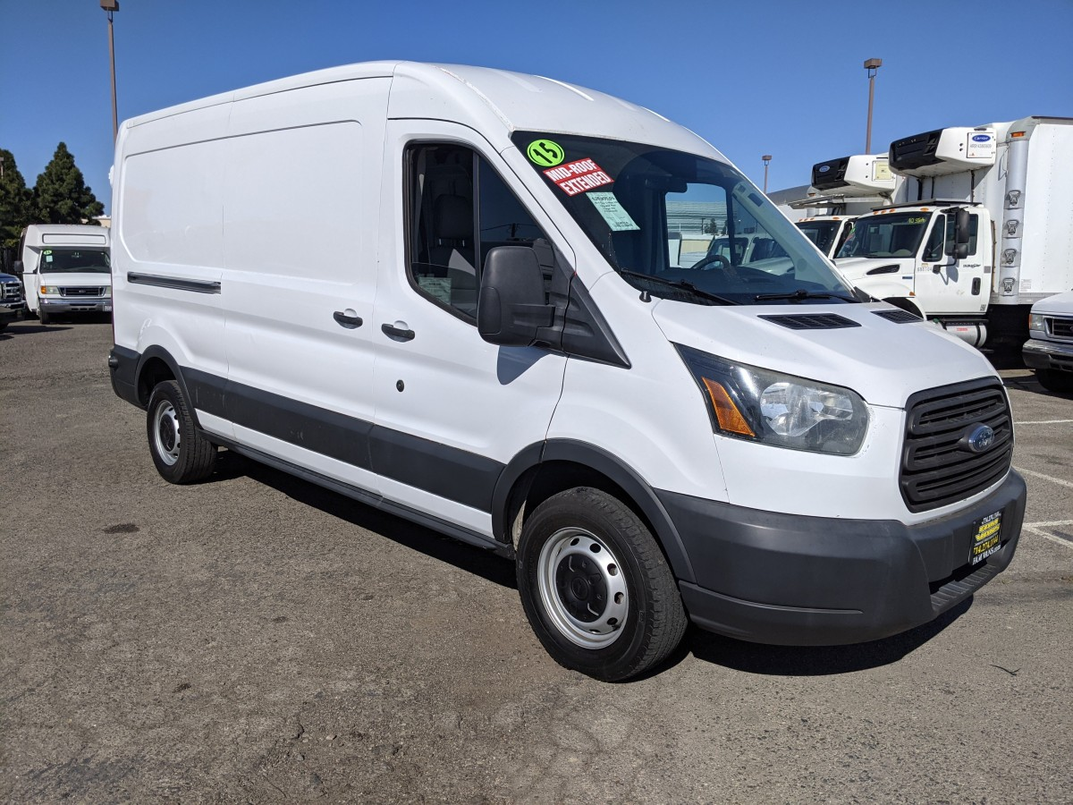 Used 2015 Ford Transit-250 ECOBOOST Long Mid Roof Cargo Van in Fountain Valley, CA