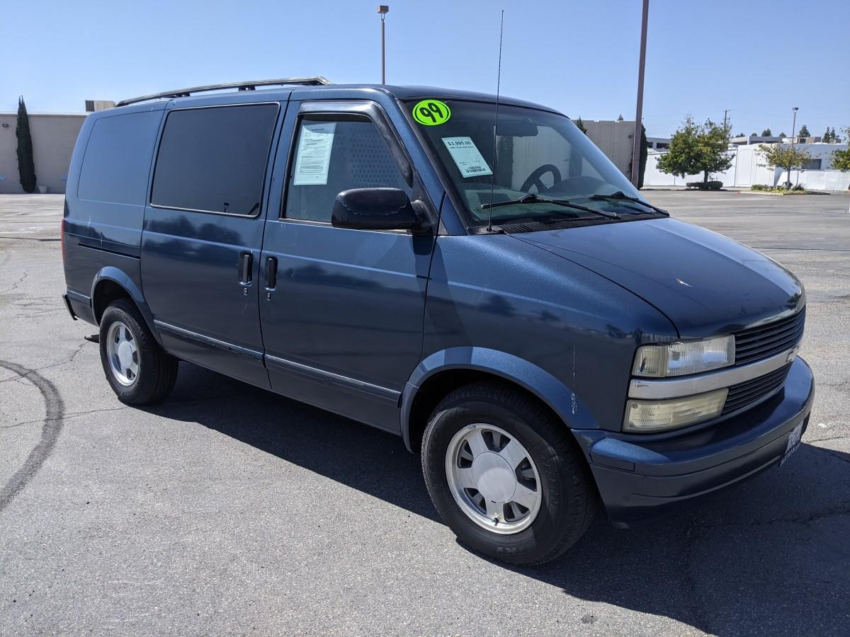 Used 1999 Chevrolet Astro Cargo Van with Bulkhead in Fountain Valley, CA