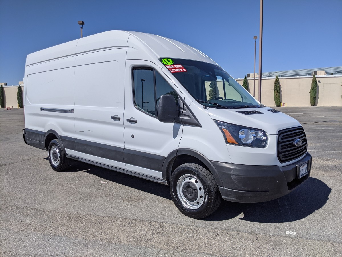 Used 2019 Ford Transit-250 Extended Long High Roof Cargo Van in Fountain Valley, CA