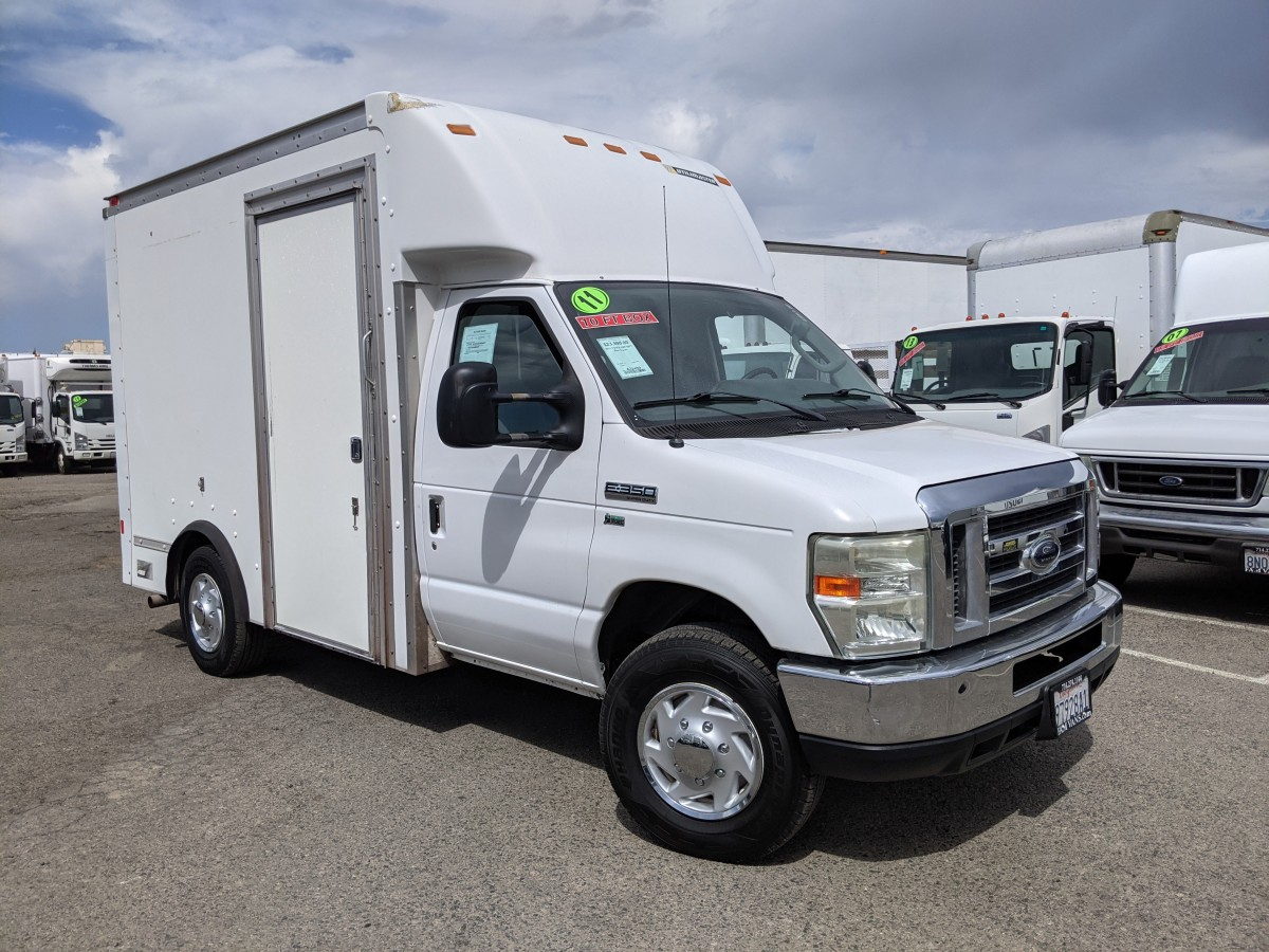 Used 2011 Ford E-350 10FT Box Truck FLEX FUEL in Fountain Valley, CA