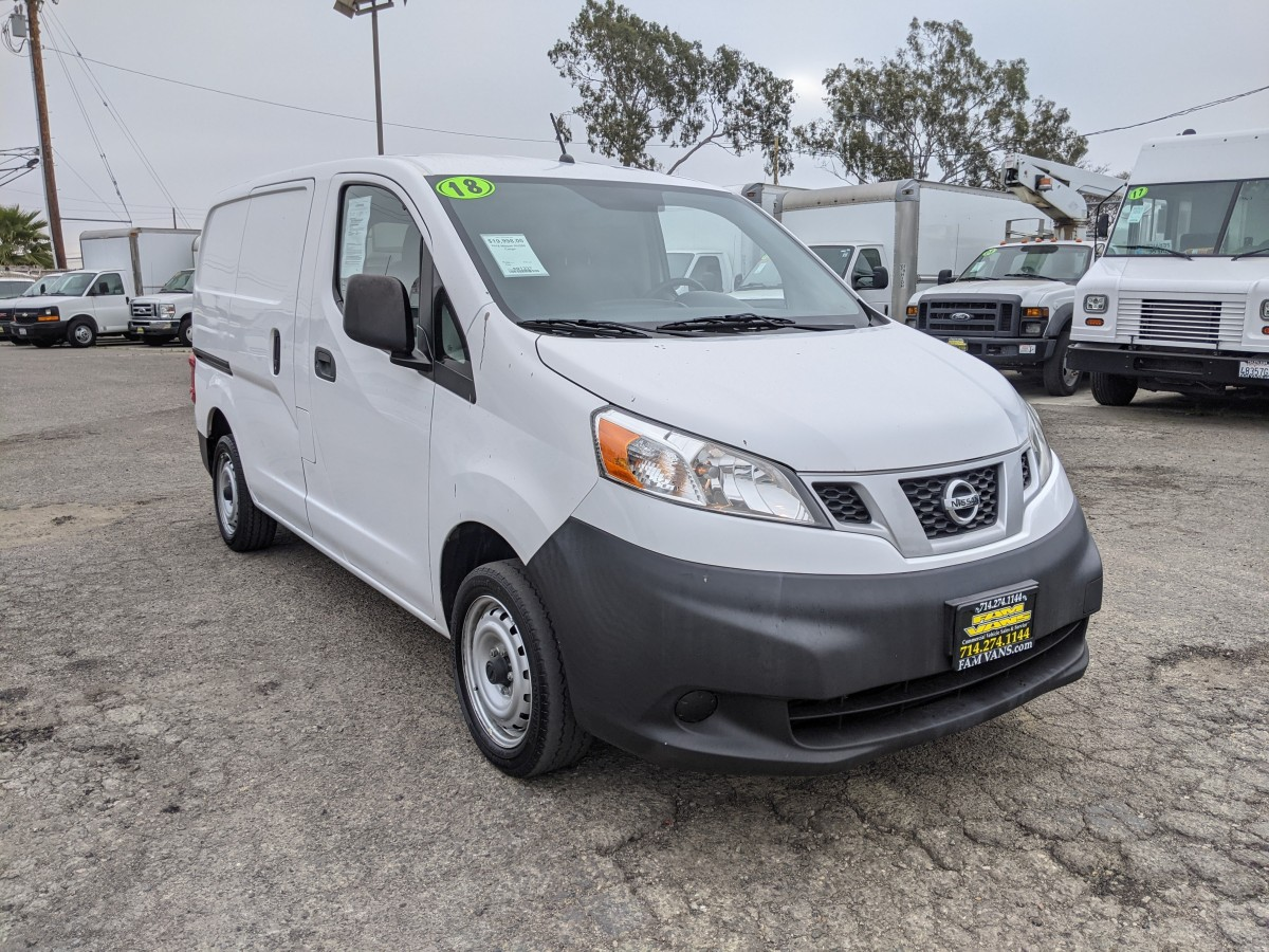 Used 2018 Nissan NV200 Cargo Mini Van in Fountain Valley, CA