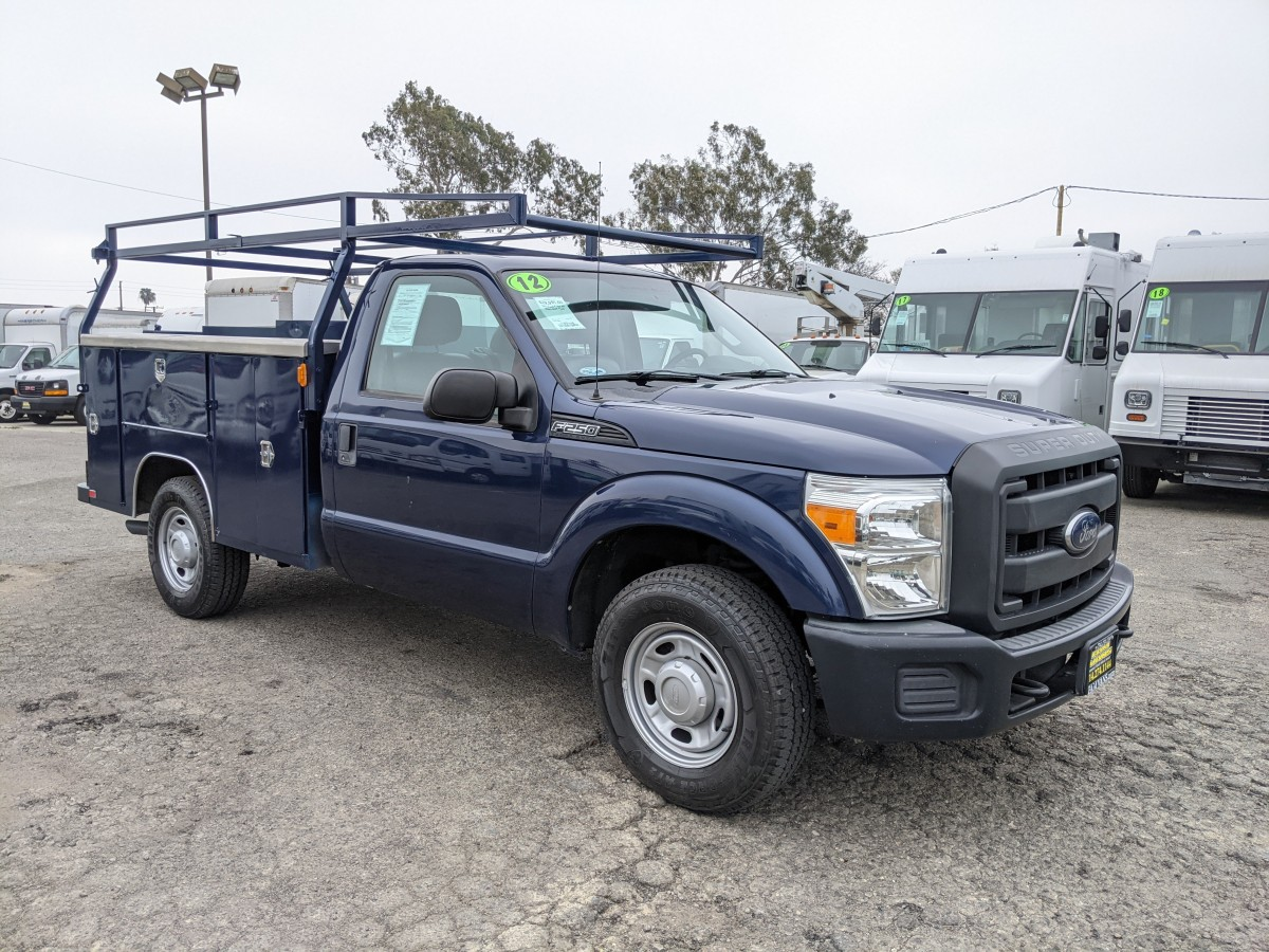 Used 2012 Ford F-250 SD 8FT Utility Truck in Fountain Valley, CA