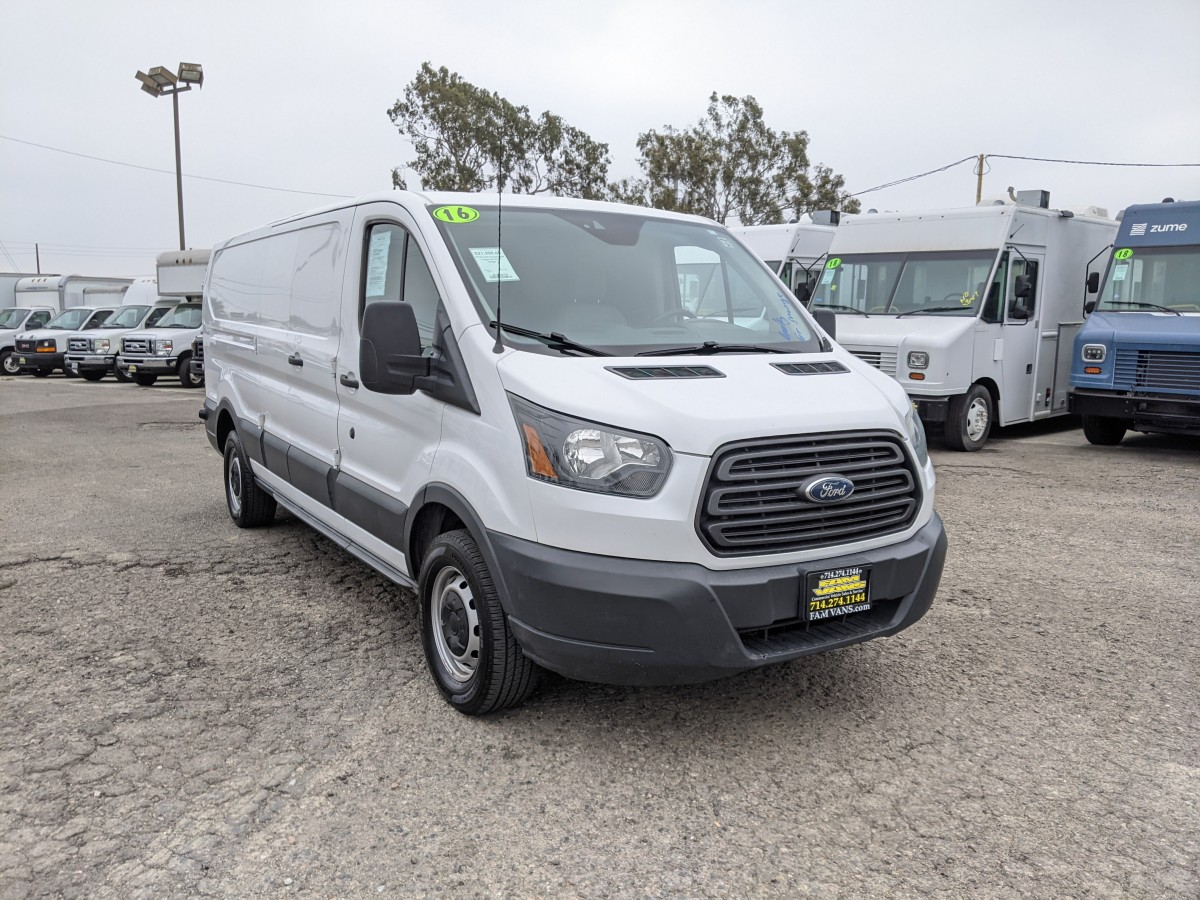 Used 2016 Ford Transit-150 Long Low Roof Cargo Van in Fountain Valley, CA