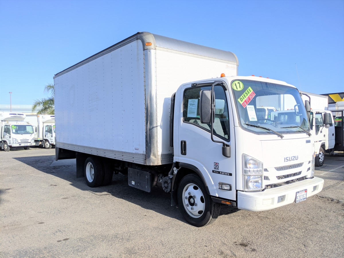 Used 2017 Isuzu NRR 18FT Box Truck DIESEL in Fountain Valley, CA