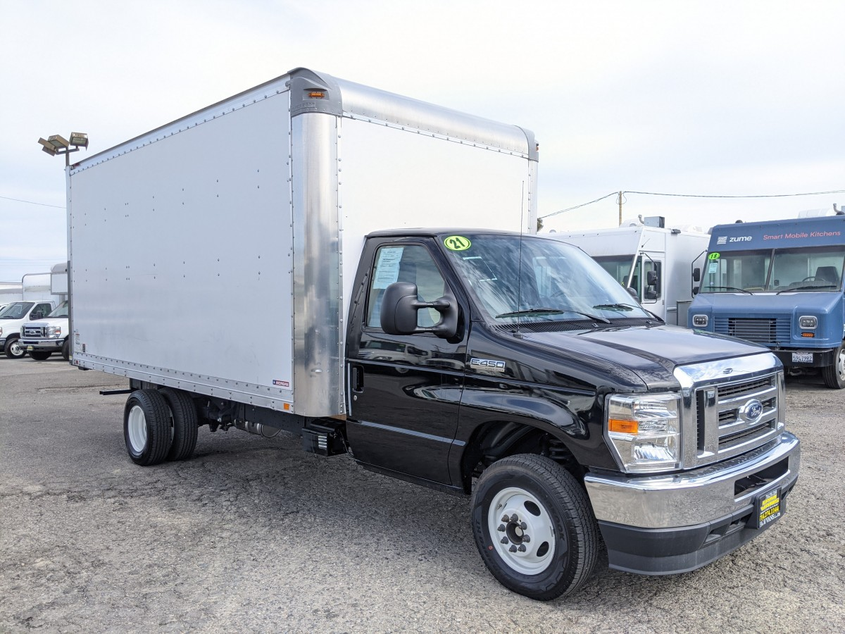 Used 2021 Ford E-450 16FT Box Truck in Fountain Valley, CA