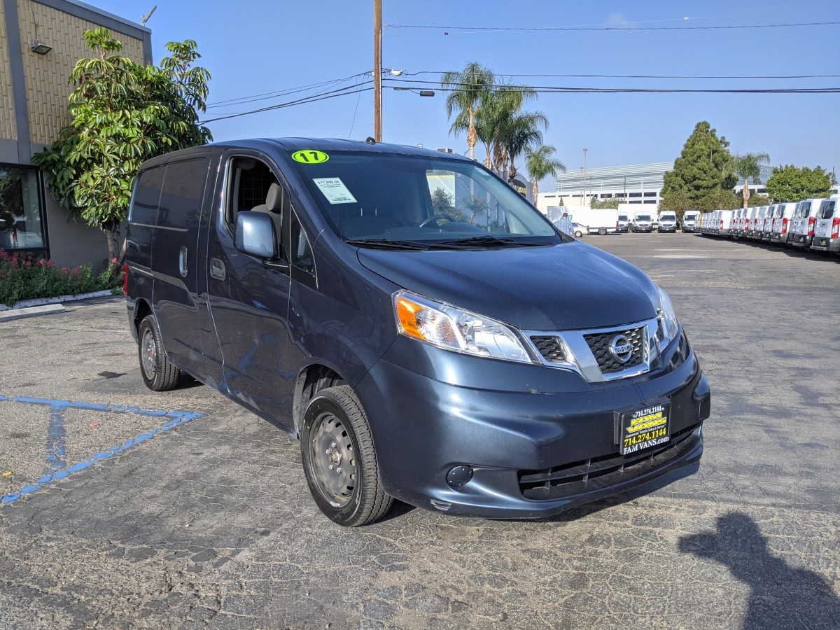 Used 2017 Nissan NV200 SV Cargo Mini Van with Bulkhead in Fountain Valley, CA