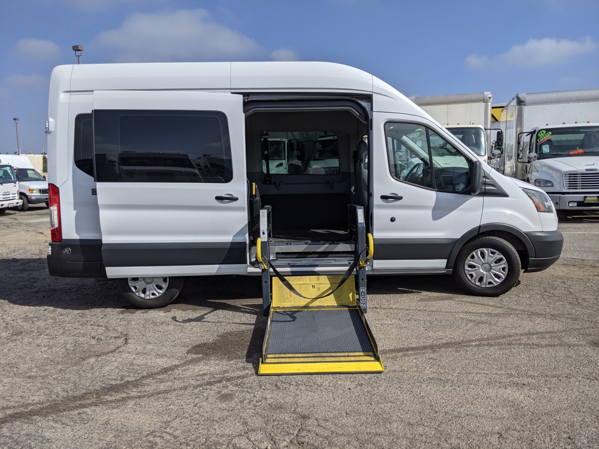 Used 2015 Ford Transit-350 Long High Roof Wheelchair Access Handicap Van DIESEL in Fountain Valley, CA