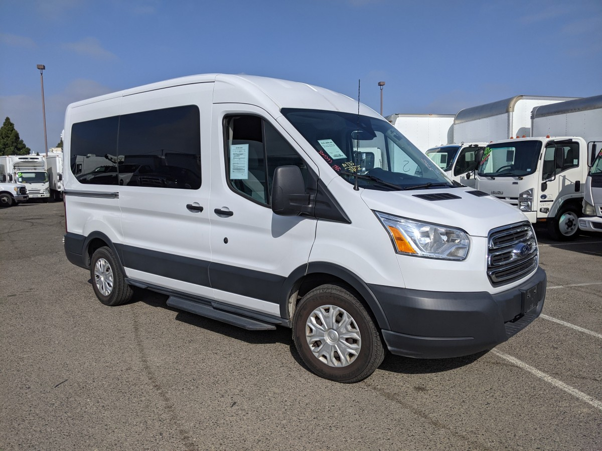 Used 2015 Ford Transit-150 Mid Roof Passenger Van XLT in Fountain Valley, CA