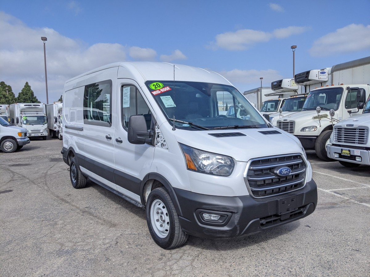 Used 2020 Ford Transit-250 Mid Roof Cargo Van in Fountain Valley, CA