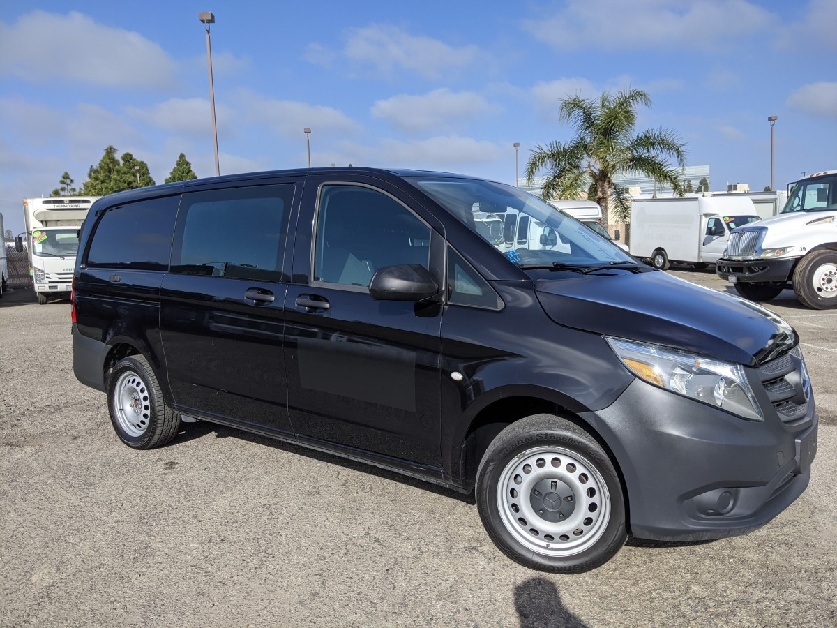 Used 2016 Mercedes-Benz Metris Cargo Mini Van with Divider in Fountain Valley, CA