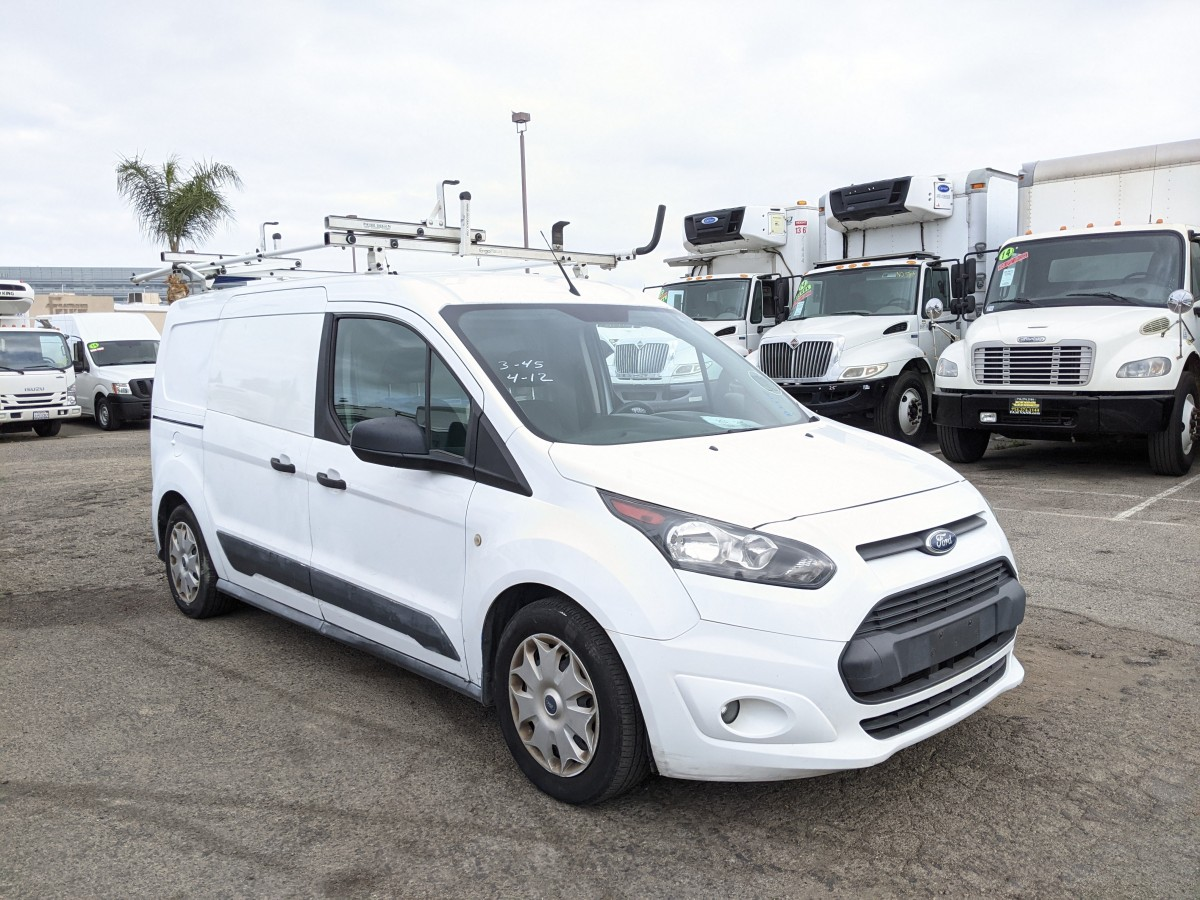 Used 2015 Ford Transit Connect Long Cargo Mini Van with Roof Rack in Fountain Valley, CA