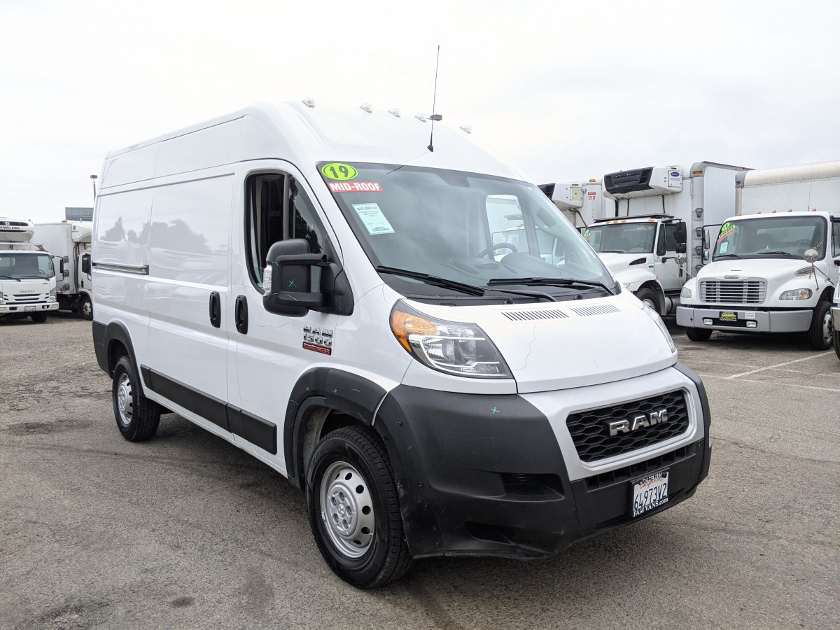 Used 2019 RAM ProMaster 1500 High Roof Cargo Van in Fountain Valley, CA