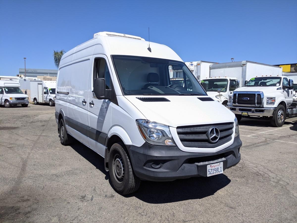 Used 2015 Mercedes-Benz Sprinter 2500 High Roof Refrigeration Reefer Cargo Van DIESEL in Fountain Valley, CA