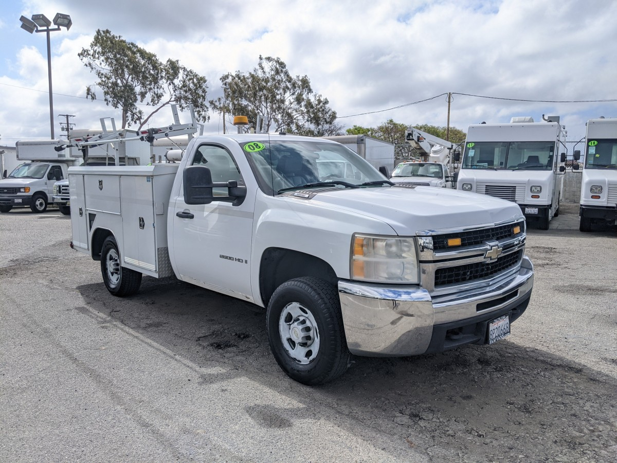 Used 2008 Chevrolet Silverado 2500 HD Utility Truck in Fountain Valley, CA