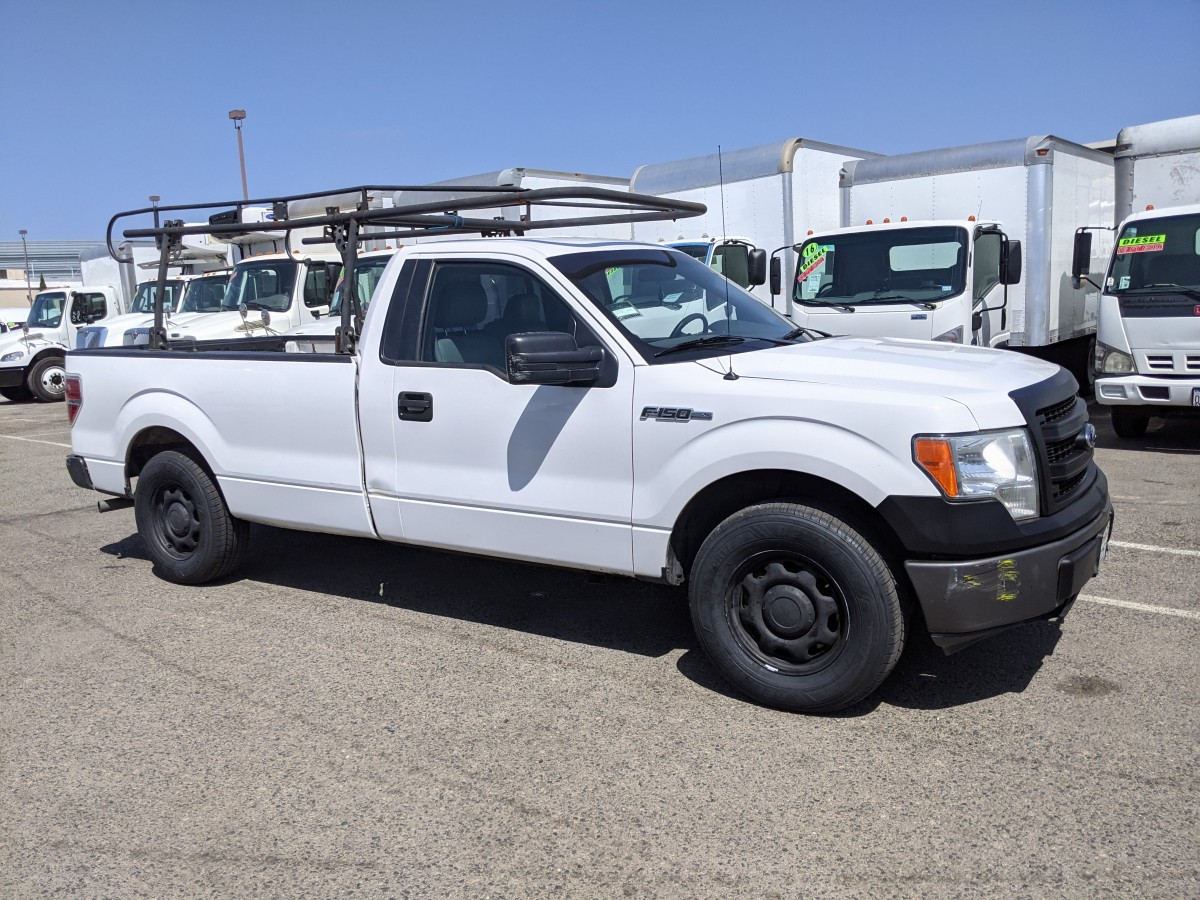 Used 2014 Ford F-150 Pickup Truck with Roof Rack in Fountain Valley, CA