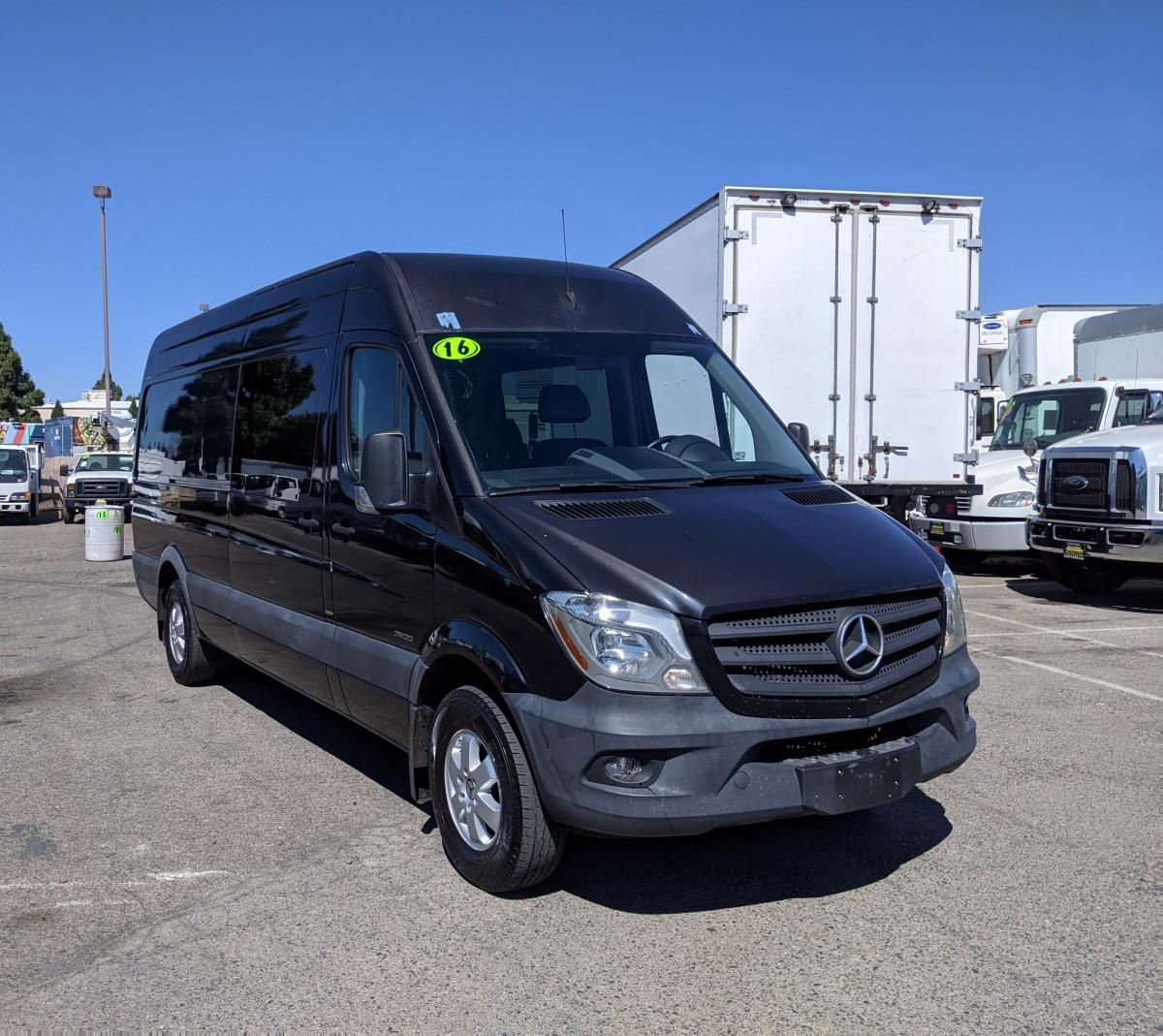 Used 2016 Mercedes-Benz Sprinter 2500 High Roof Crew Cargo Van 170WB DIESEL in Fountain Valley, CA