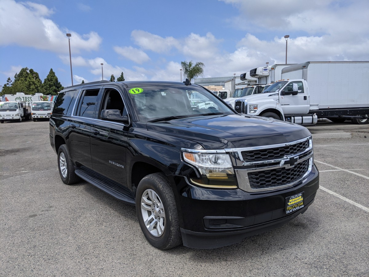 Used 2019 Chevrolet Suburban LT SUV in Fountain Valley, CA