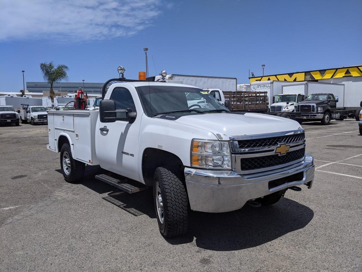 Used 2012 Chevrolet Silverado 3500 HD 4x4 Utility Truck 4wd in Fountain Valley, CA