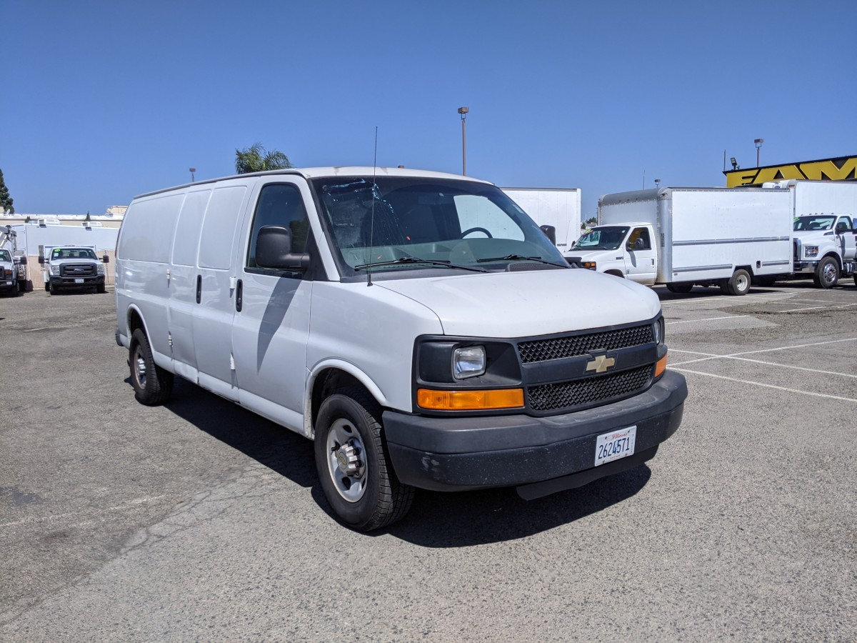 Used 2011 Chevrolet Express 3500 Extended Cargo Van in Fountain Valley, CA