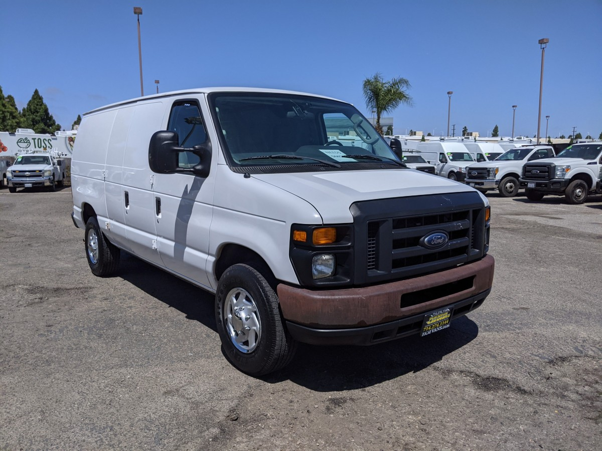 Used 2013 Ford E-250 SD Cargo Van PROPANE in Fountain Valley, CA