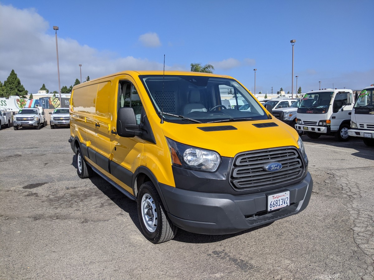 Used 2016 Ford Transit-250 Long Low Roof Cargo Van with Bulkhead in Fountain Valley, CA