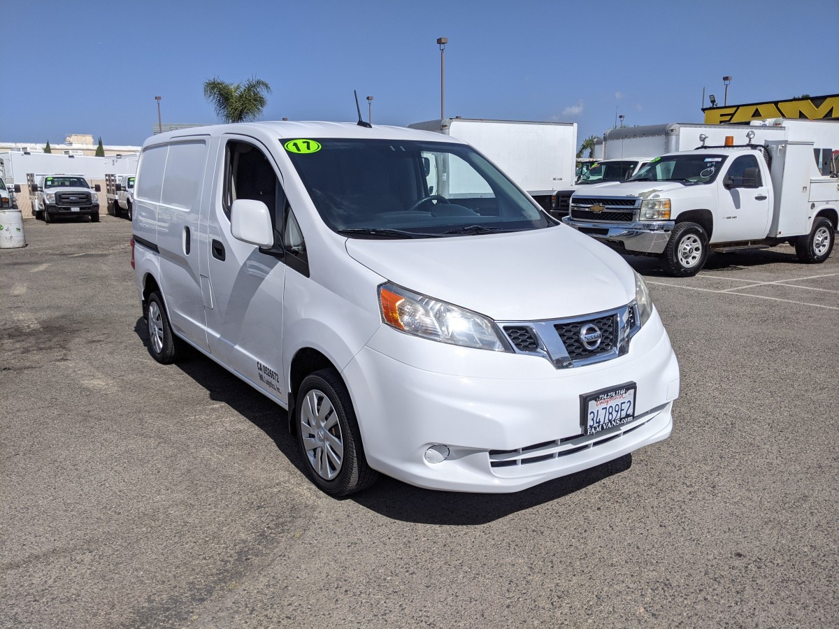 Used 2017 Nissan NV200 Cargo Mini Van in Fountain Valley, CA