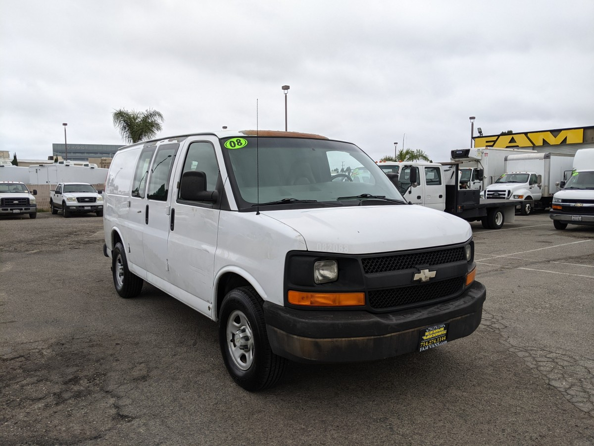 Used 2008 Chevrolet Express 1500 Cargo Van in Fountain Valley, CA