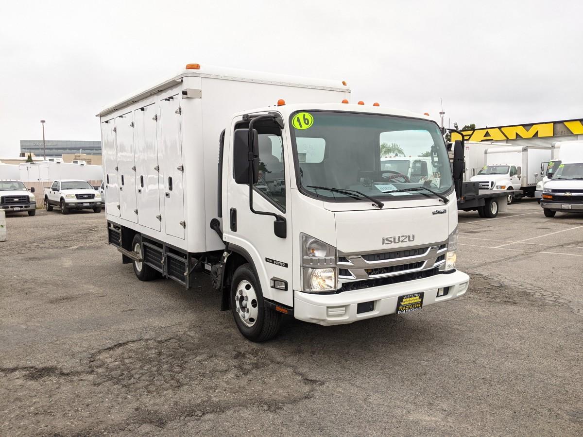Used 2016 Isuzu NPR 16FT Box Truck in Fountain Valley, CA