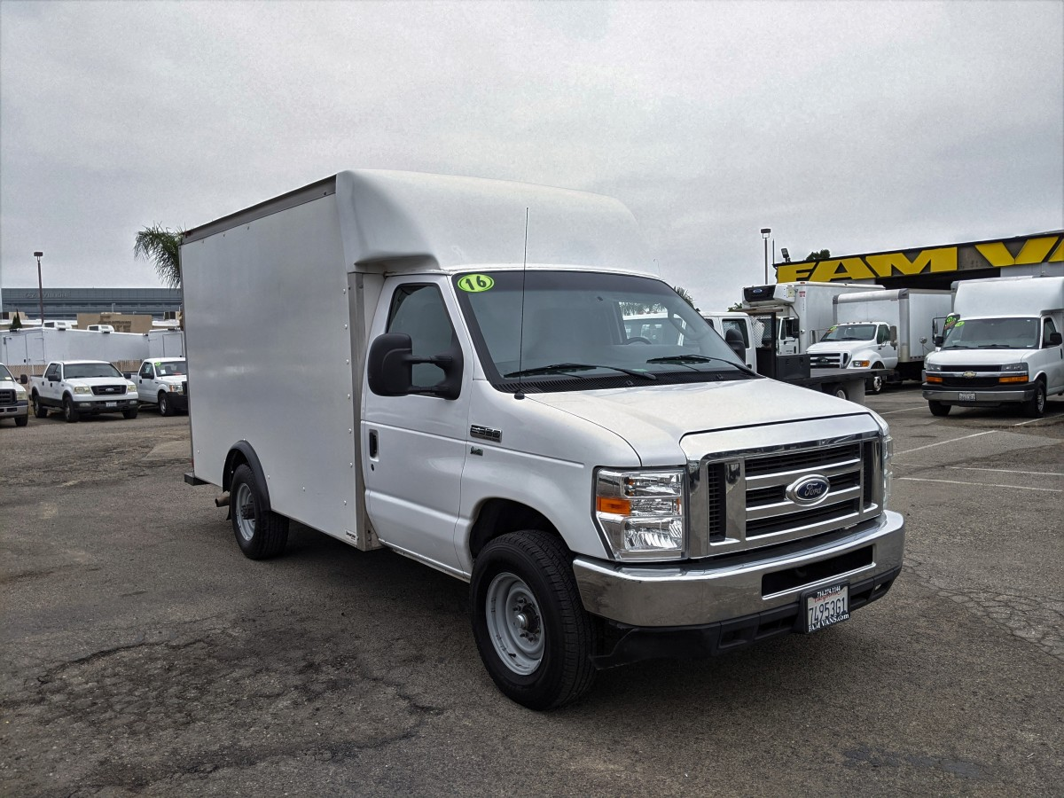 Used 2016 Ford E-350 SD 10FT Box Truck in Fountain Valley, CA