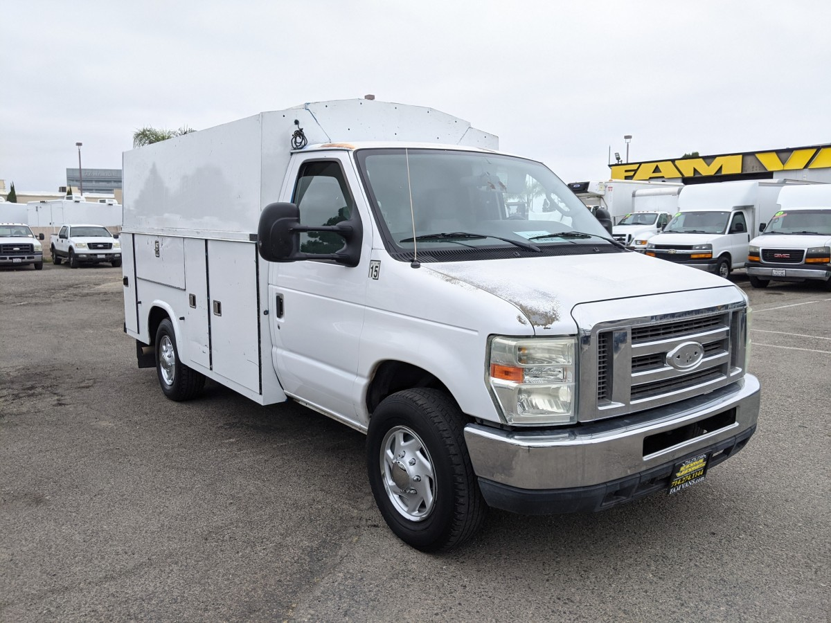 Used 2011 Ford E-350 10FT Plumber Truck in Fountain Valley, CA