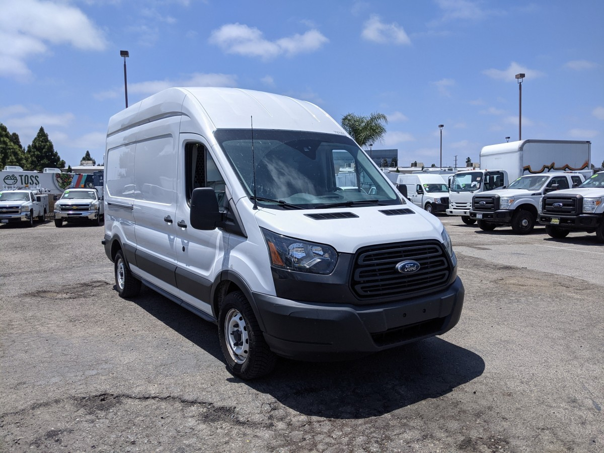 Used 2017 Ford Transit-250 Long High Roof Cargo Van in Fountain Valley, CA