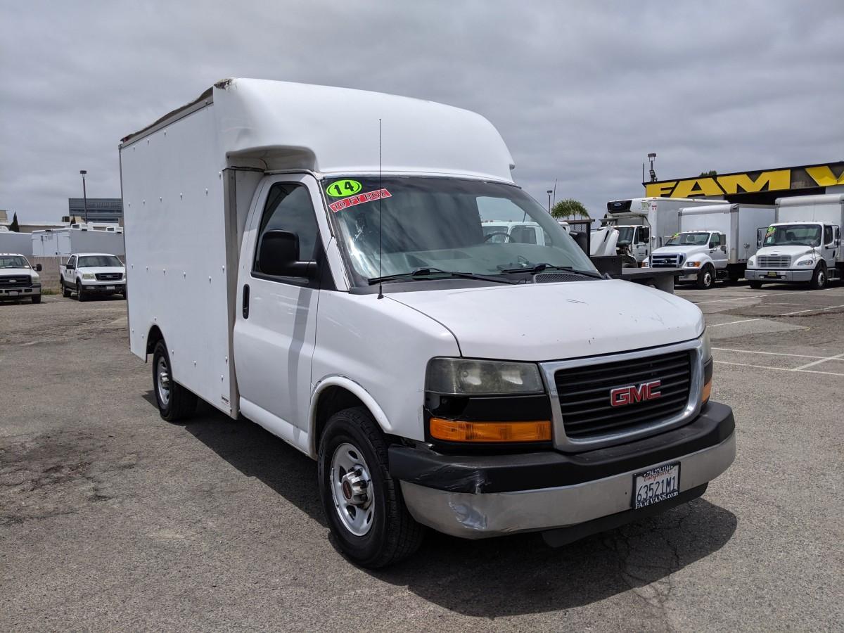 Used 2014 GMC Savana 3500 10FT Box Truck in Fountain Valley, CA