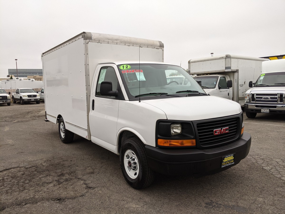 Used 2012 GMC Savana 3500 12FT Box Truck in Fountain Valley, CA