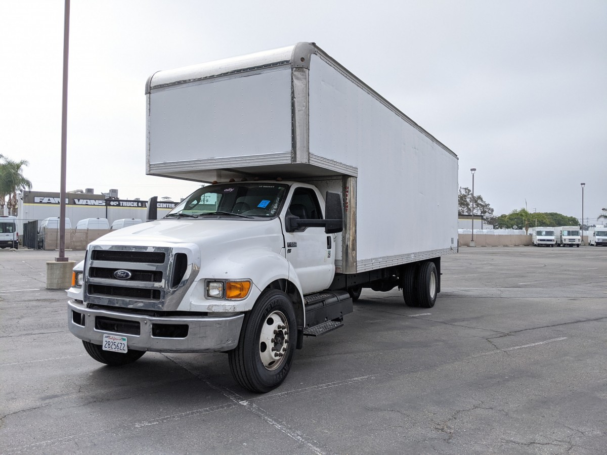 Used 2015 Ford F-650 26FT Box Truck in Fountain Valley, CA