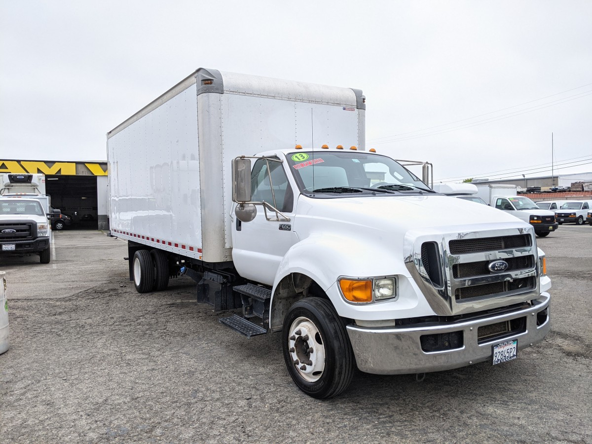 Used 2013 Ford F-650 20FT Box Truck DIESEL in Fountain Valley, CA