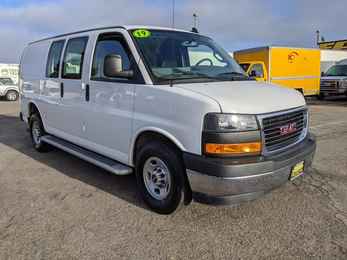 Used 2019 GMC Savana 2500 Cargo Van with Bulkhead in Fountain Valley, CA