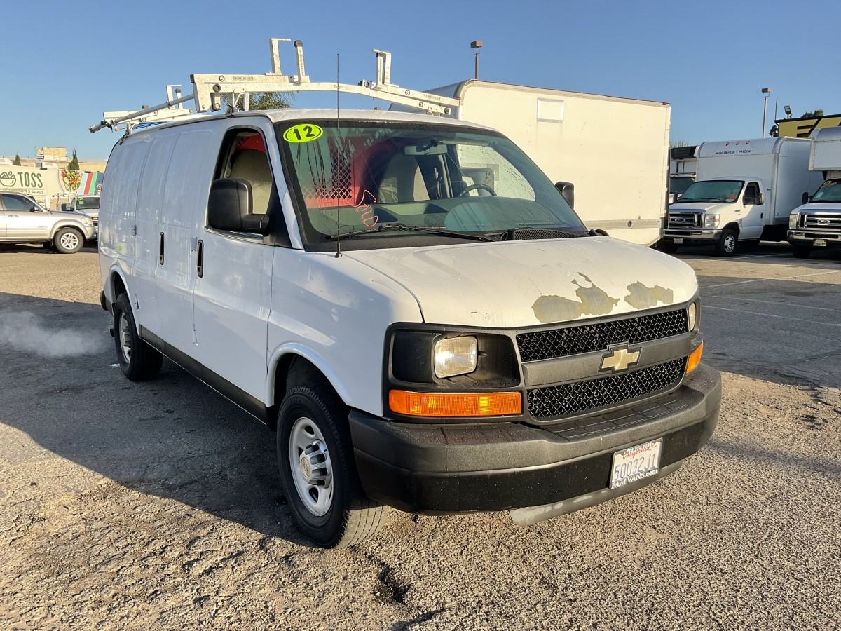 Used 2012 Chevrolet Express 2500 Cargo Van in Fountain Valley, CA