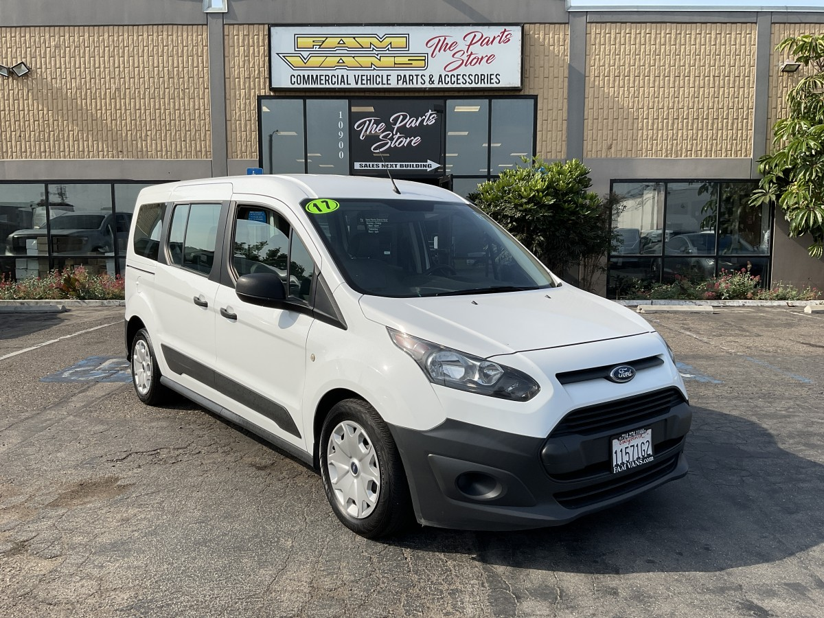Used 2017 Ford Transit Connect Long Passenger Mini Van XL in Fountain Valley, CA