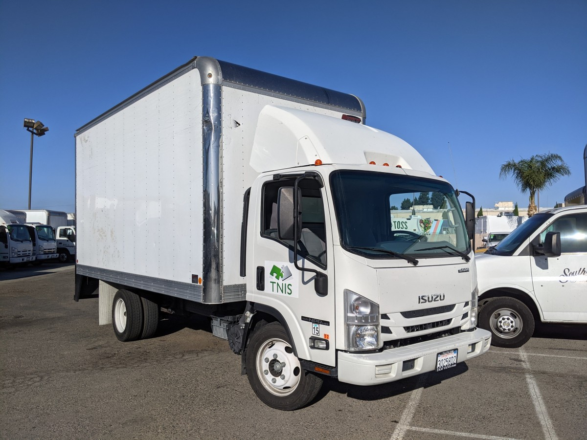 Used 2017 Isuzu NPR XD 16FT Box Truck GAS in Fountain Valley, CA