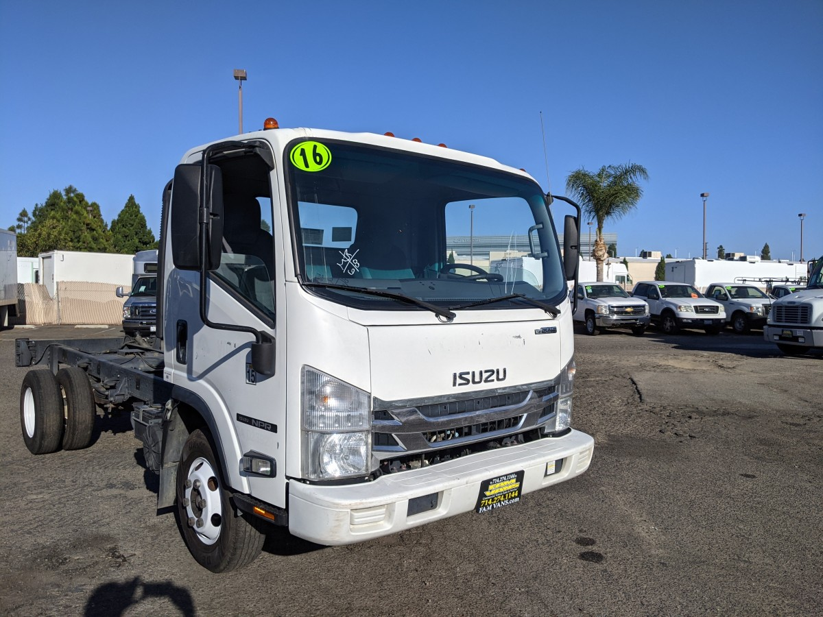 Used 2016 Isuzu NPR Cab Chassis in Fountain Valley, CA