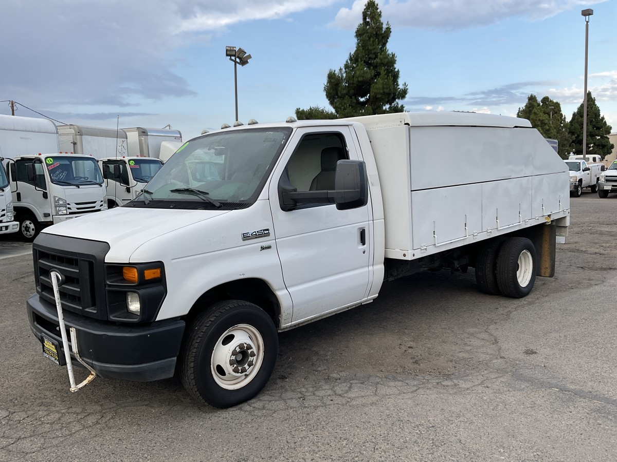 Used 2011 Ford E-450 SD Utility Truck FLEX FUEL in Fountain Valley, CA